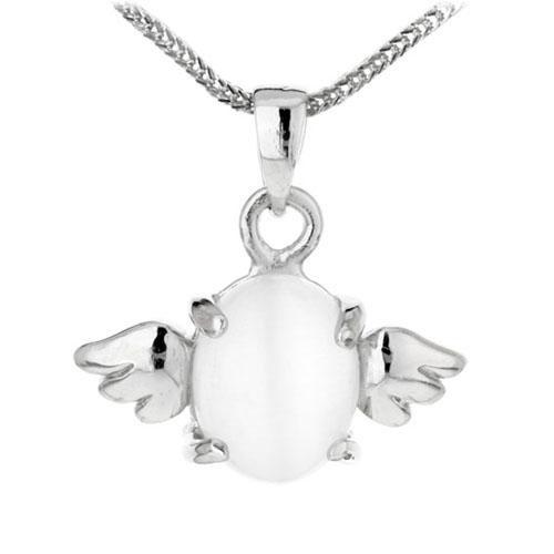 pendentif femme argent diamant 8300049