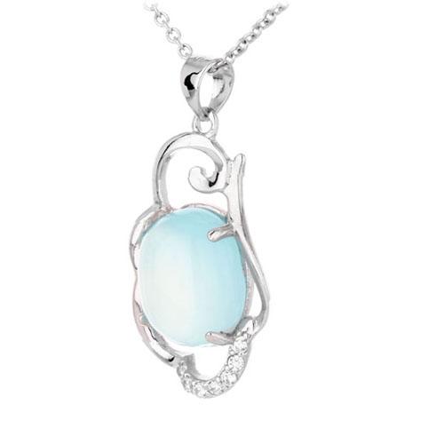 pendentif femme argent diamant 8300323 pic2