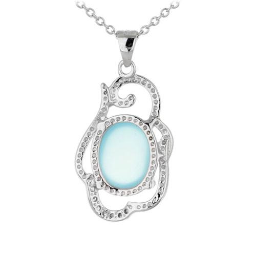 pendentif femme argent diamant 8300323 pic3