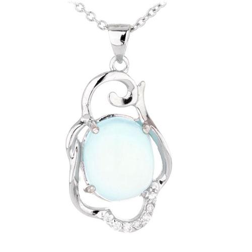 pendentif femme argent diamant 8300323