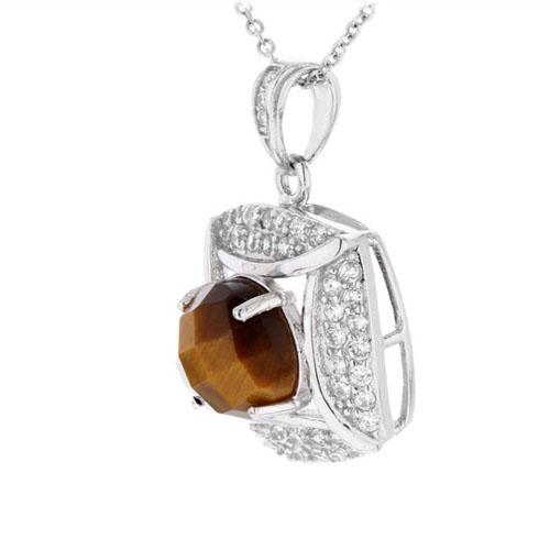 pendentif femme argent diamant 8300358 pic2