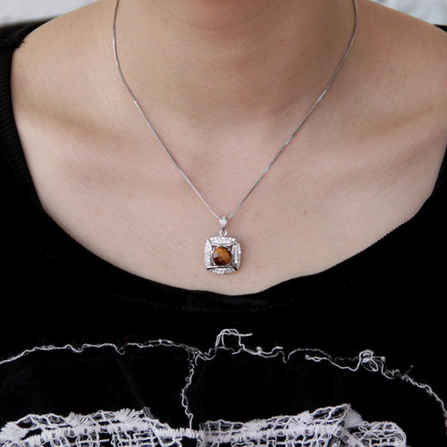 pendentif femme argent diamant 8300358 pic4