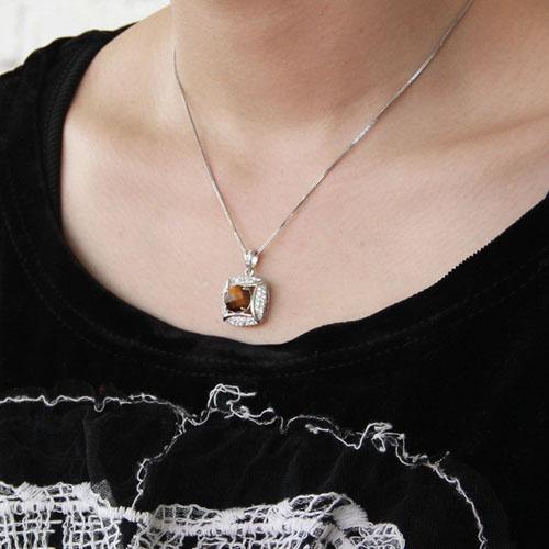pendentif femme argent diamant 8300358 pic5