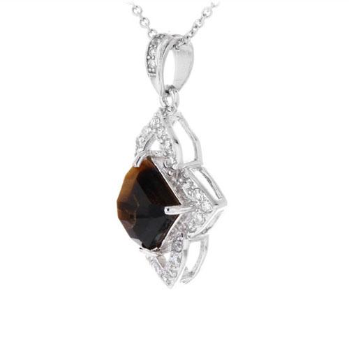 pendentif femme argent diamant 8300359 pic2