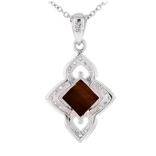 pendentif femme argent diamant 8300359 pic3