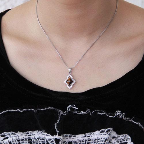 pendentif femme argent diamant 8300359 pic4