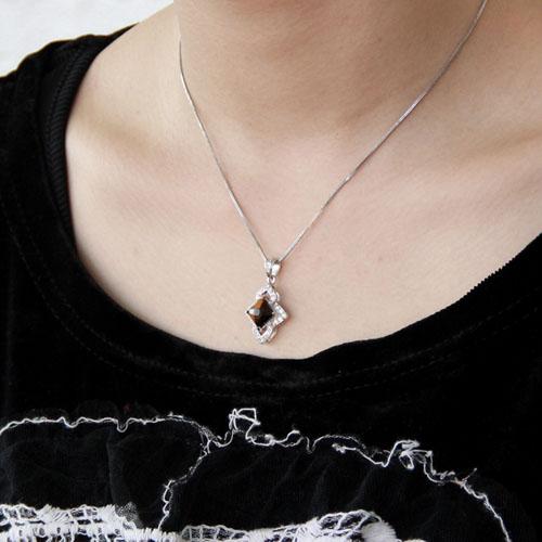 pendentif femme argent diamant 8300359 pic5