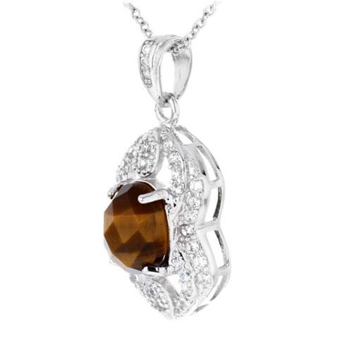 pendentif femme argent diamant 8300360 pic2