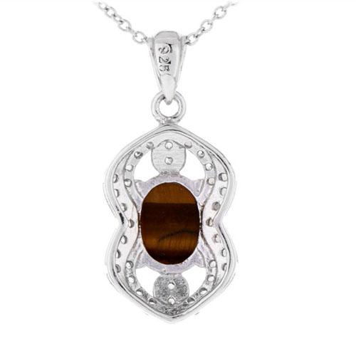 pendentif femme argent diamant 8300360 pic3