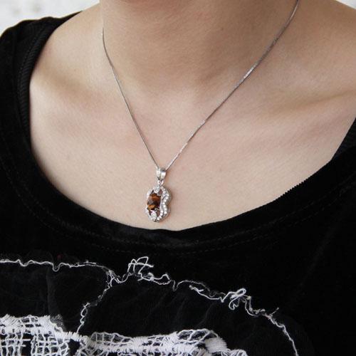 pendentif femme argent diamant 8300360 pic5