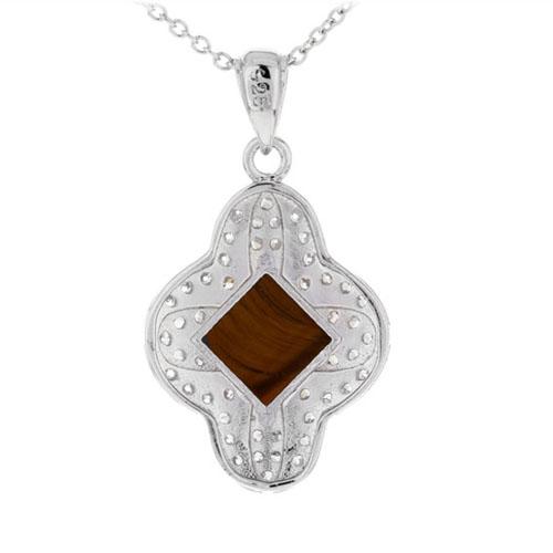 pendentif femme argent diamant 8300361 pic3