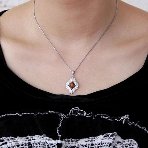 pendentif femme argent diamant 8300361 pic4