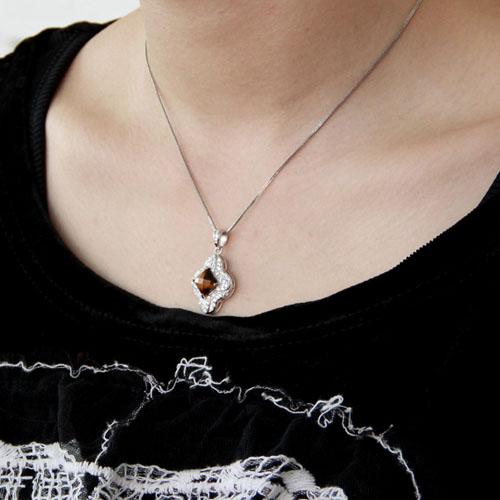 pendentif femme argent diamant 8300361 pic5