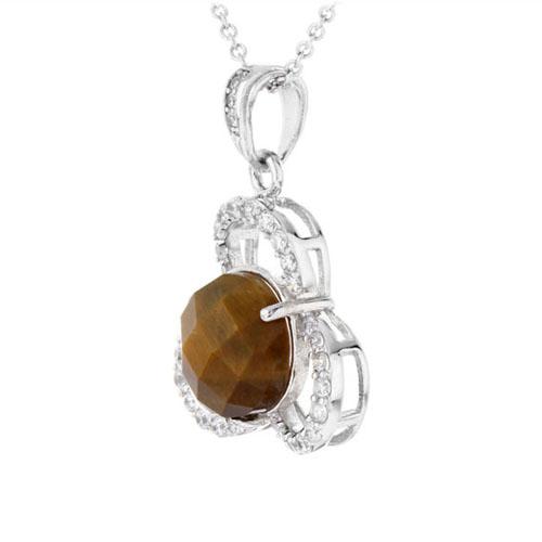 pendentif femme argent diamant 8300363 pic2