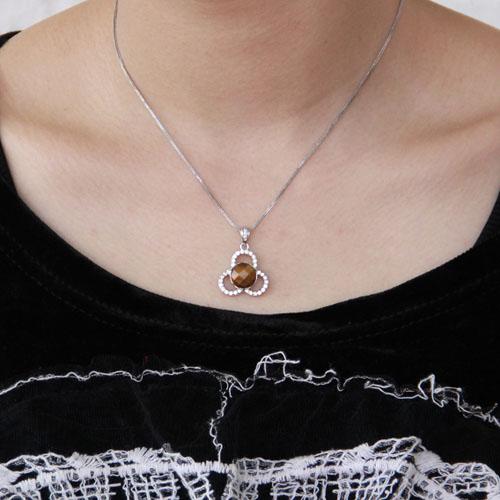 pendentif femme argent diamant 8300363 pic4