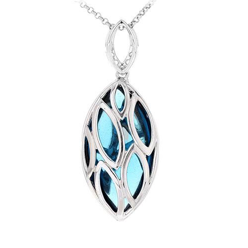 pendentif femme argent diamant 8300434 pic3