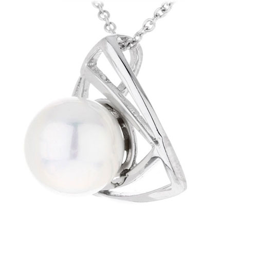 pendentif femme argent perle 8300390 pic2