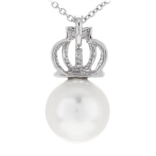 pendentif femme argent perle 8300394 pic3