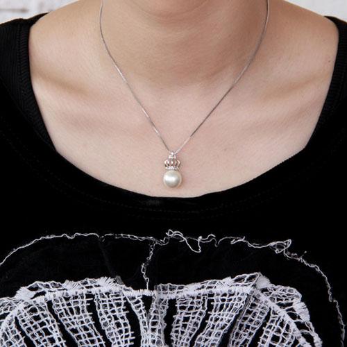 pendentif femme argent perle 8300394 pic4