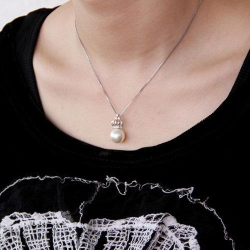 pendentif femme argent perle 8300394 pic5