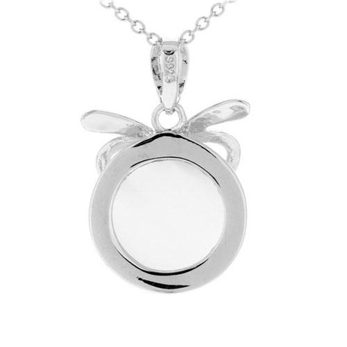 pendentif femme argent perle 8300395 pic3