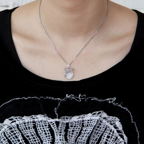 pendentif femme argent perle 8300395 pic4
