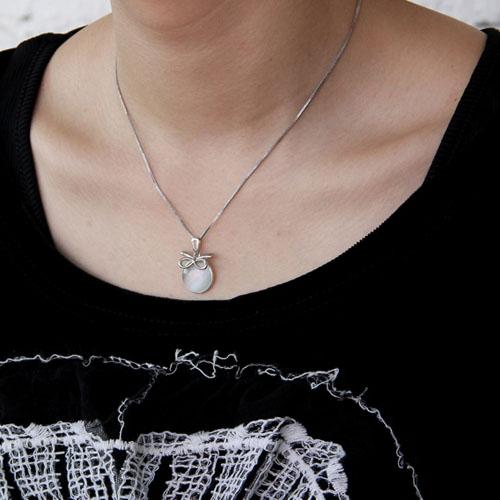 pendentif femme argent perle 8300395 pic5