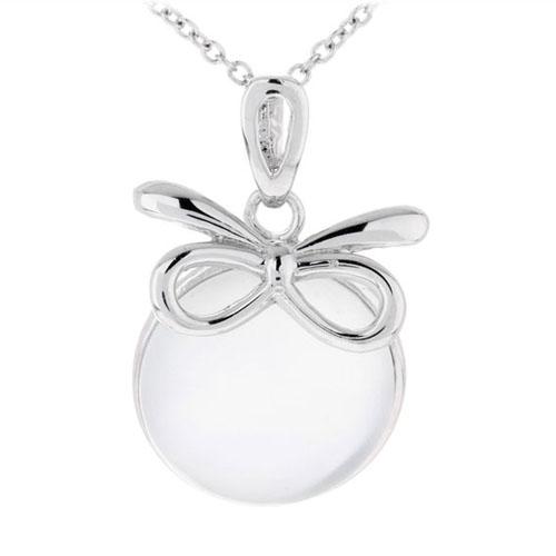 pendentif femme argent perle 8300395