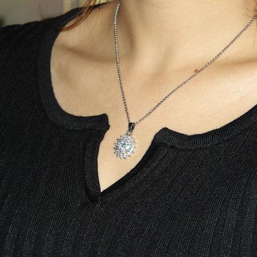 pendentif femme argent zirconium 8300030 pic4
