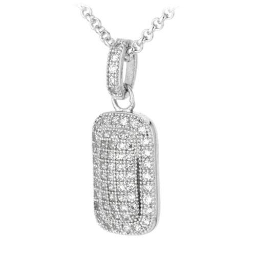 pendentif femme argent zirconium 8300033 pic2