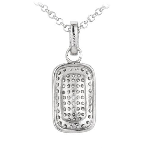 pendentif femme argent zirconium 8300033 pic3