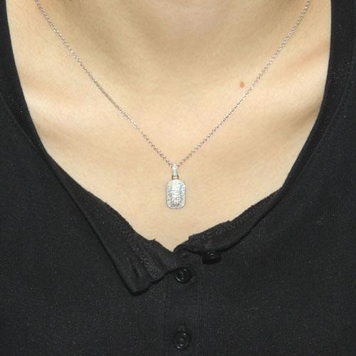 pendentif femme argent zirconium 8300033 pic4