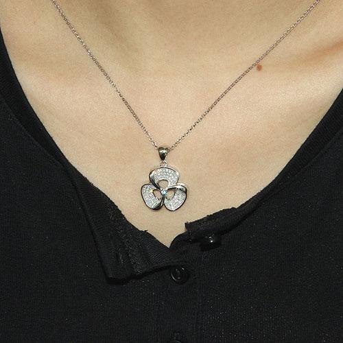 pendentif femme argent zirconium 8300035 pic4