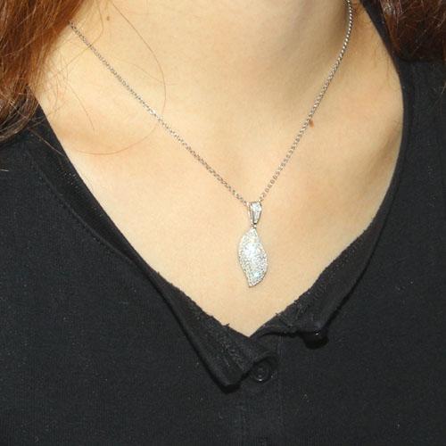 pendentif femme argent zirconium 8300036 pic4