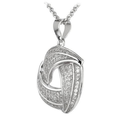 pendentif femme argent zirconium 8300037 pic2
