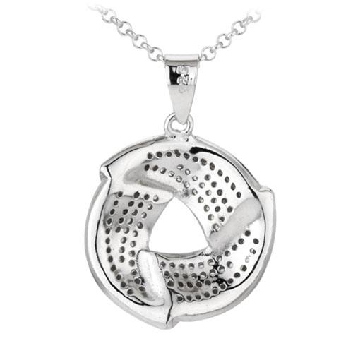 pendentif femme argent zirconium 8300037 pic3