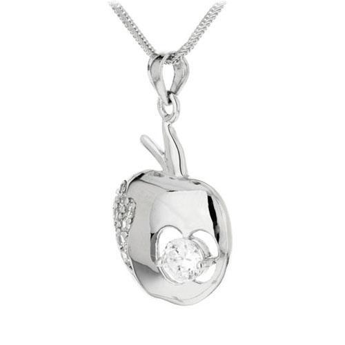 pendentif femme argent zirconium 8300046 pic2