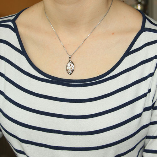 pendentif femme argent zirconium 8300061 pic4