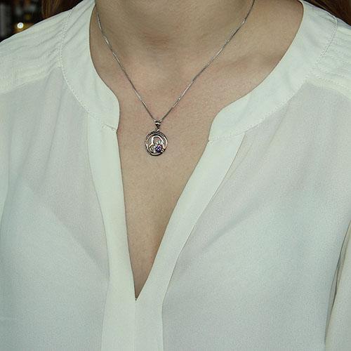 pendentif femme argent zirconium 8300078 pic4