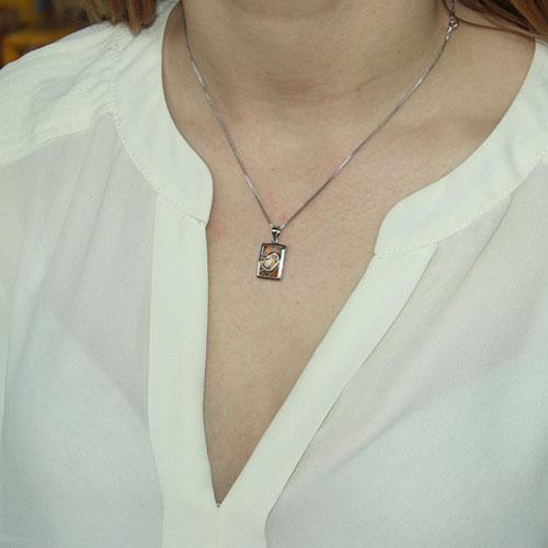 pendentif femme argent zirconium 8300087 pic4