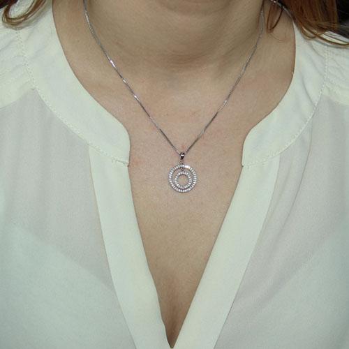 pendentif femme argent zirconium 8300088 pic4