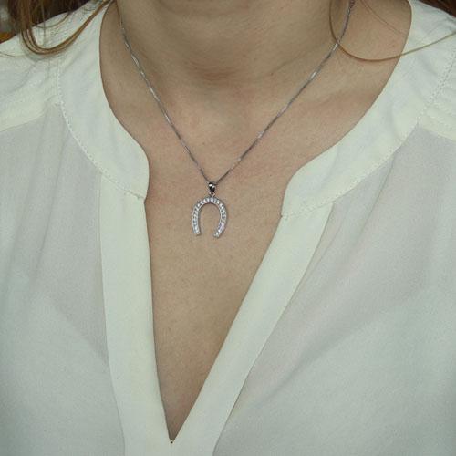 pendentif femme argent zirconium 8300089 pic4