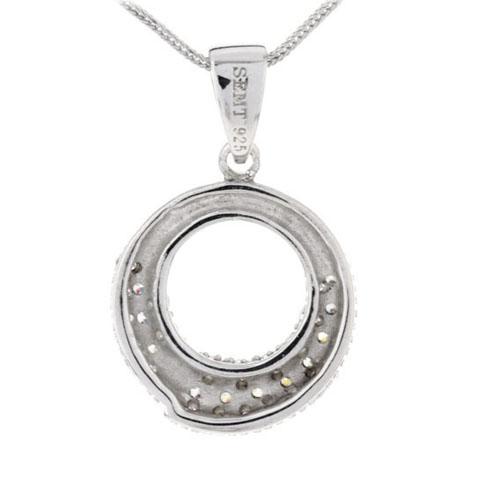pendentif femme argent zirconium 8300102 pic3