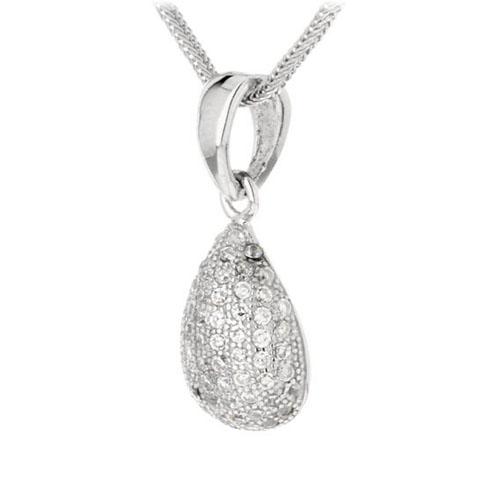 pendentif femme argent zirconium 8300103 pic2