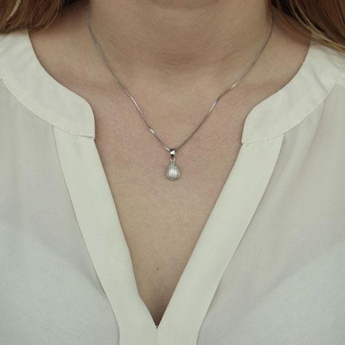 pendentif femme argent zirconium 8300103 pic4
