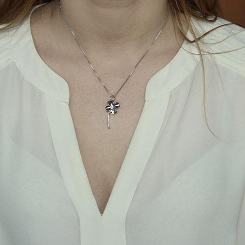 pendentif femme argent zirconium 8300110 pic4
