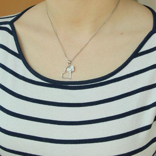 pendentif femme argent zirconium 8300114 pic4