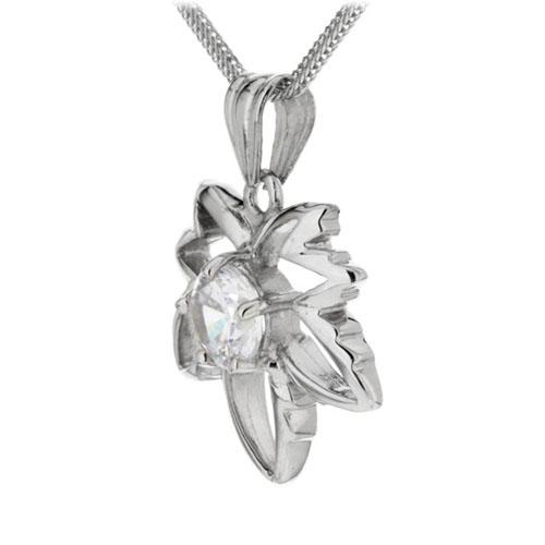 pendentif femme argent zirconium 8300117 pic2