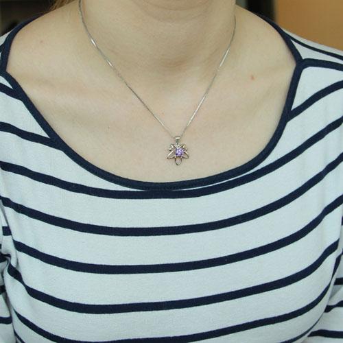 pendentif femme argent zirconium 8300118 pic4