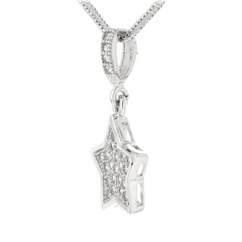 pendentif femme argent zirconium 8300123 pic2